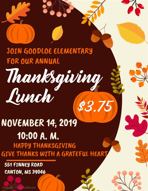 GES Thanksgiving Lunch