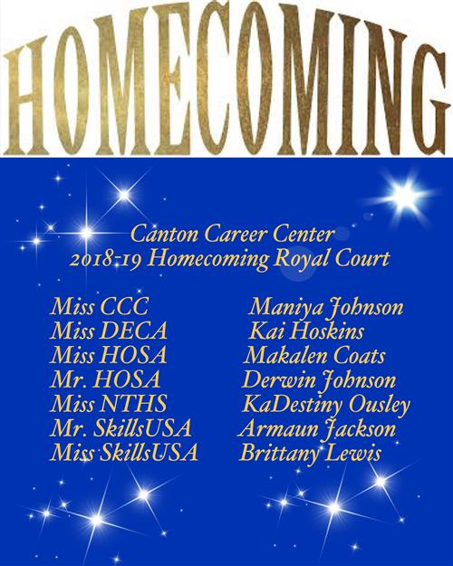 CCC Homecoming Royal Court
