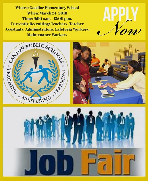 CPSD Job Fair March 24, 2018