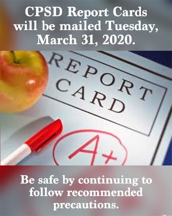 Report Cards Mailed