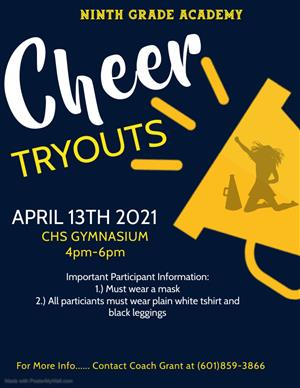 NGA CHEER TRYOUTS