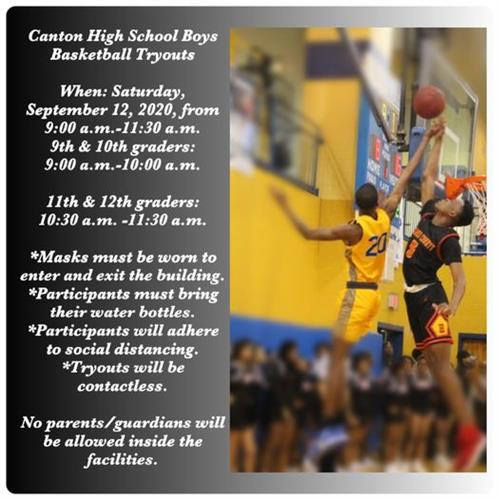 CHS BOYS BASKETBALL TRYOUTS