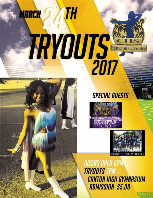 CHS Prancing Tigerettes Tryouts