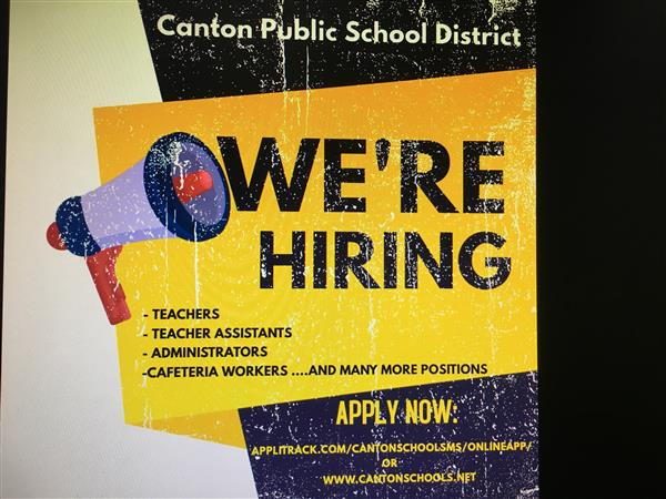 CANTON PUBLIC SCHOOLS JOB FAIR 2021
