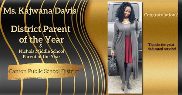 District Parent of the Year