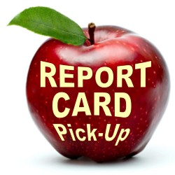 Report Card Pick-Up (check with schools for exact times)