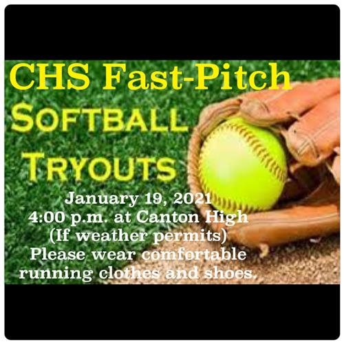 CHS SOFTBALL TRYOUTS 2021