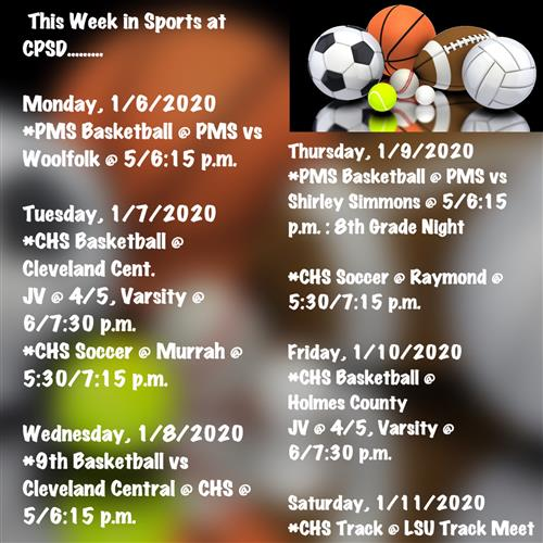 CPSD This Week in Sports